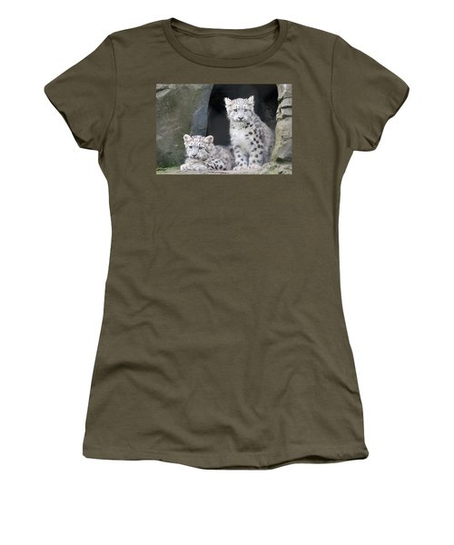 Snow Leopard Cubs Women's T-Shirt