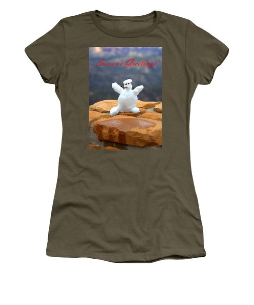 Snowball Snowman Women's T-Shirt