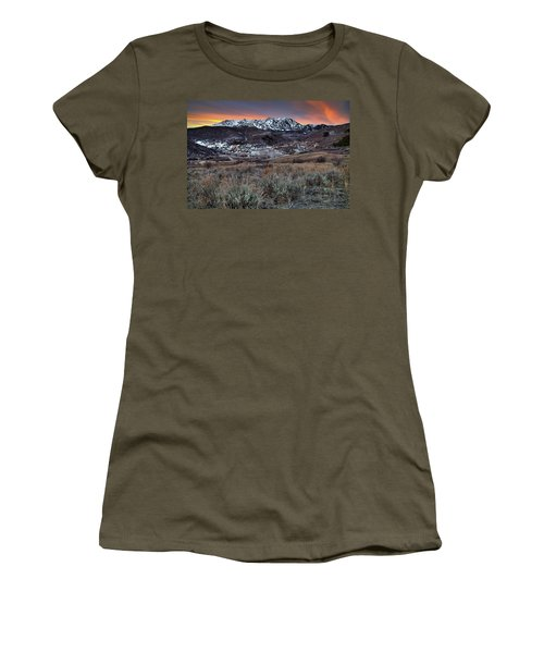 Snowbasin Fire And Ice Women's T-Shirt