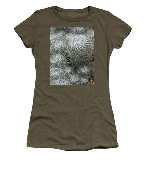 Snowy Cactus  Women's T-Shirt