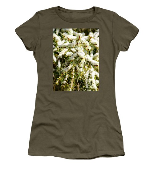 Snowy Pines Women's T-Shirt