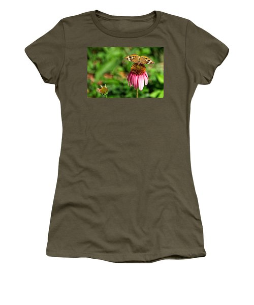 Women's T-Shirt (Junior Cut) featuring the photograph Soaking Up The Sun by Dave Files