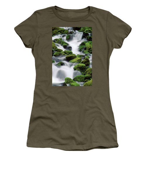 Sol Duc Stream Women's T-Shirt (Athletic Fit)