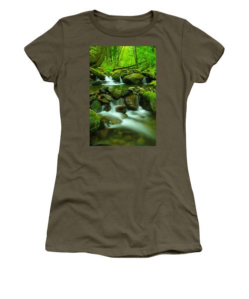 Sometimes Its Best To Sit And Dream Women's T-Shirt (Athletic Fit)
