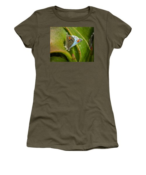 Sonoran Blue Women's T-Shirt (Junior Cut) by Jim Thompson