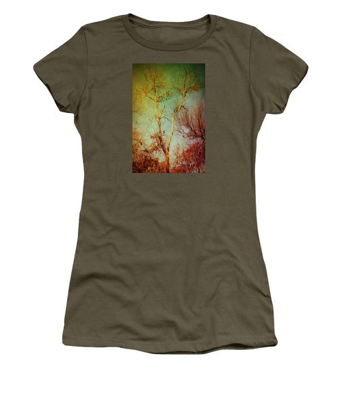 Souls Of Trees Women's T-Shirt (Junior Cut) by Trish Mistric