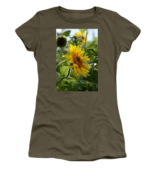 Women's T-Shirt (Junior Cut) featuring the photograph Soulshine No.2 by Neal Eslinger