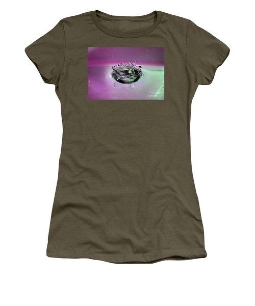 Splash Of Purple Women's T-Shirt