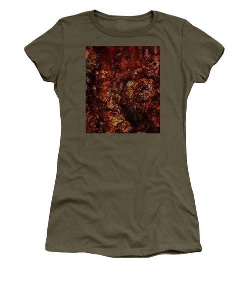 Splattered  Women's T-Shirt (Junior Cut) by James Barnes