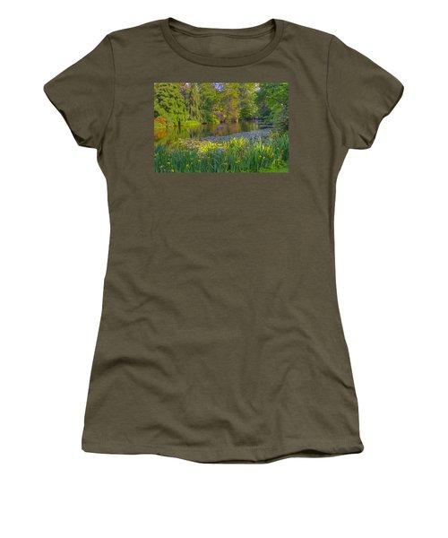 Spring Morning At Mount Auburn Cemetery Women's T-Shirt