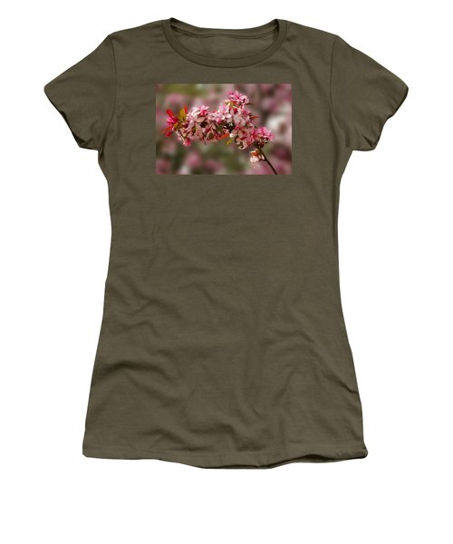 Cheery Cherry Blossoms Women's T-Shirt