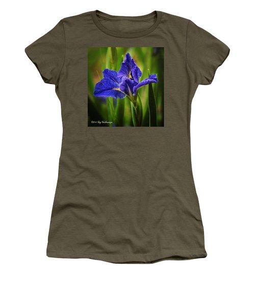 Spring Blue Iris Women's T-Shirt