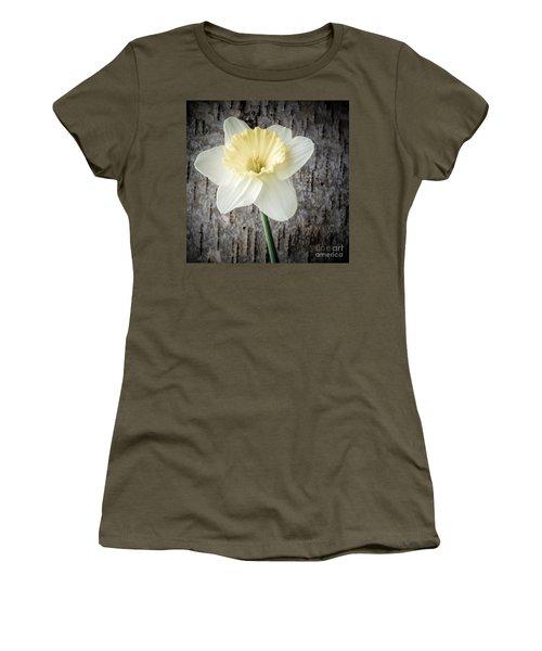 Spring Daffodil Square Women's T-Shirt