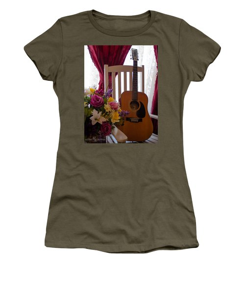 Spring Guitar Women's T-Shirt