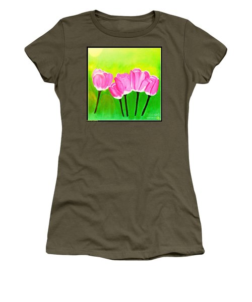 Spring I Women's T-Shirt (Athletic Fit)