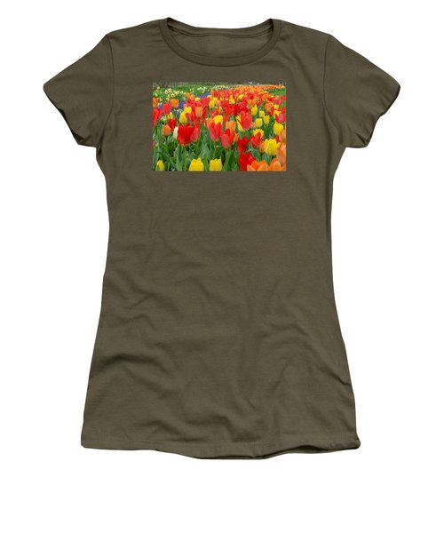 Spring Of Glory Women's T-Shirt (Athletic Fit)