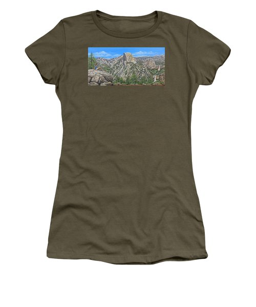 Springtime In Yosemite Valley Women's T-Shirt