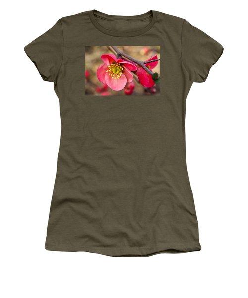 Springtime Quince Women's T-Shirt