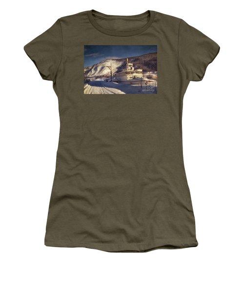 S.s. Keno Sternwheel Paddle Steamer Women's T-Shirt