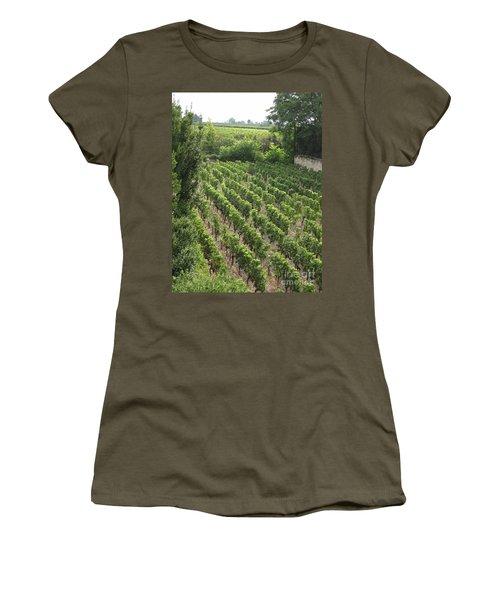 St. Emilion Vineyard Women's T-Shirt