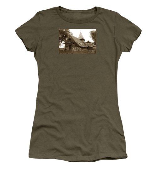 St. Johns Chapel Del Monte Monterey California 1895 Women's T-Shirt