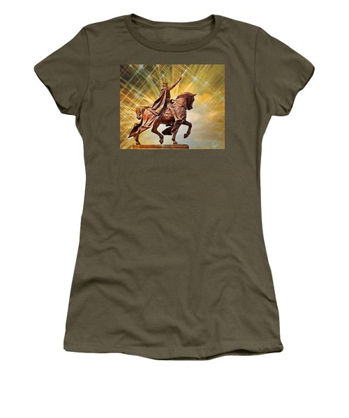 Women's T-Shirt (Junior Cut) featuring the photograph St. Louis 5 by Marty Koch