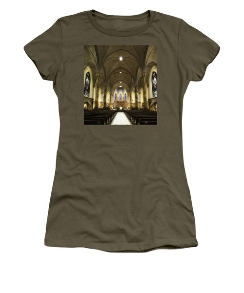 St Mary's Catholic Church Women's T-Shirt (Athletic Fit)