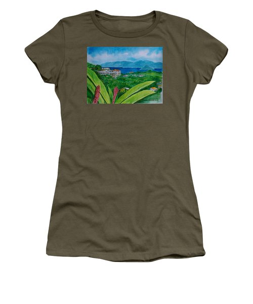 St. Thomas Virgin Islands Women's T-Shirt (Junior Cut) by Frank Hunter