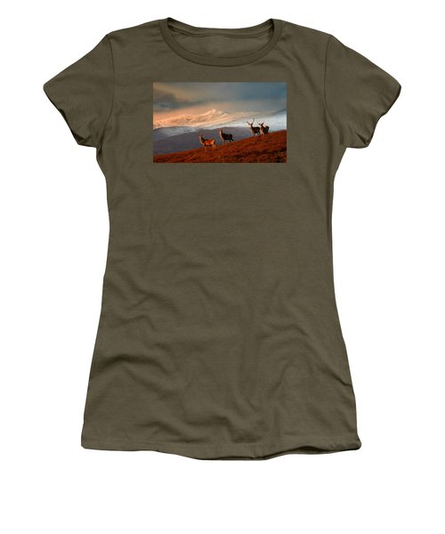 Stags At Strathglass Women's T-Shirt