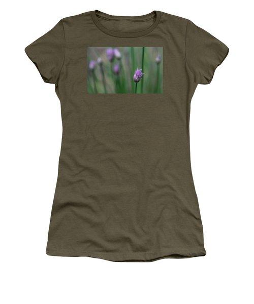Women's T-Shirt (Junior Cut) featuring the photograph Not Just A Pretty Flower by Debbie Oppermann