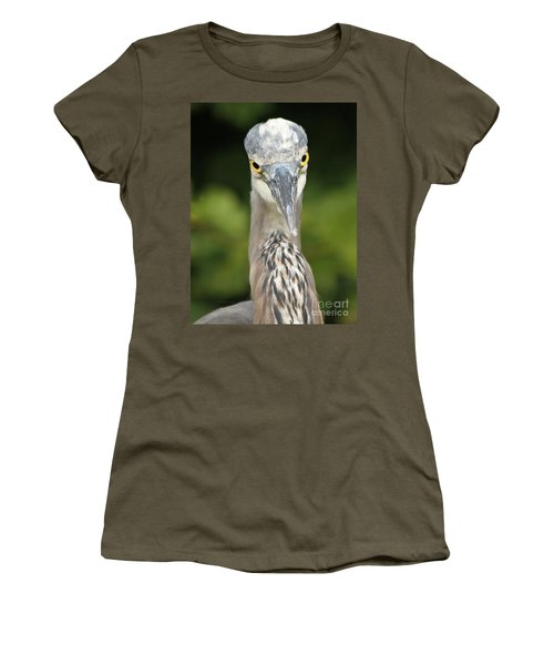 Women's T-Shirt (Junior Cut) featuring the photograph Staredown by Heather King