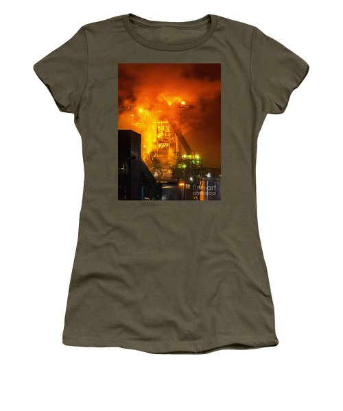 Steam And Light Women's T-Shirt (Athletic Fit)