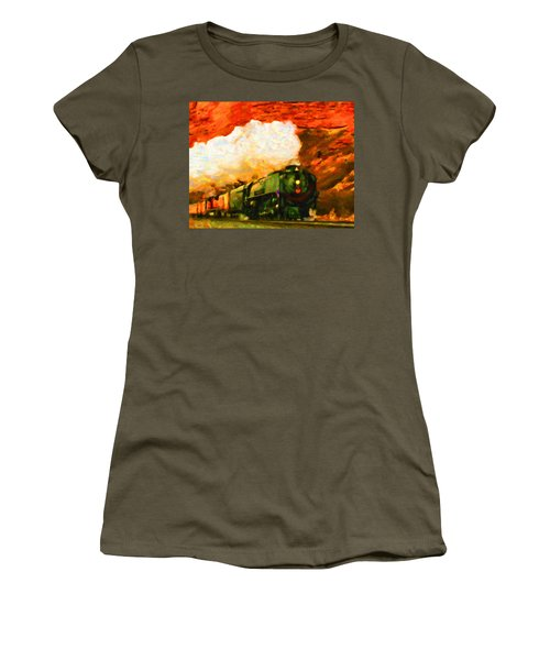 Steam And Sandstone Women's T-Shirt