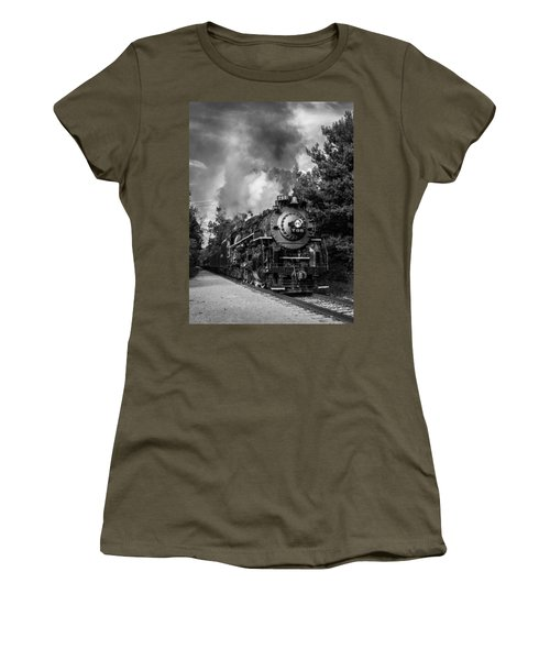 Steam On The Rails Women's T-Shirt