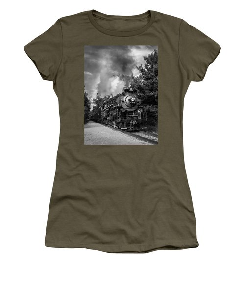 Steam On The Rails Women's T-Shirt