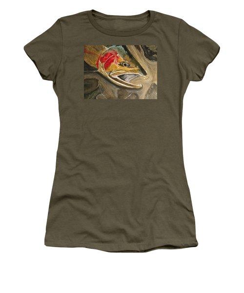 Steelhead Buck Women's T-Shirt (Athletic Fit)