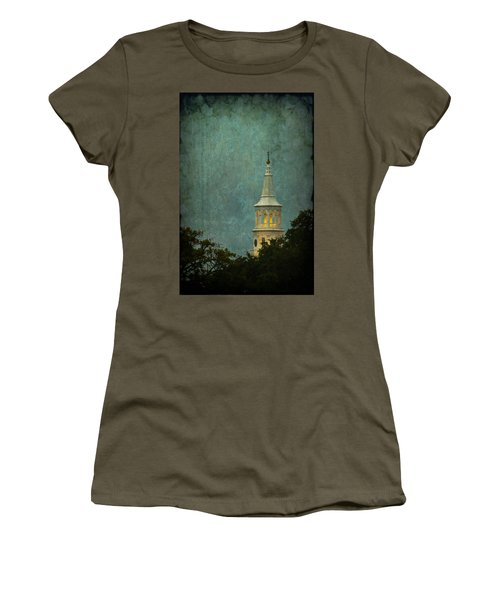 Steeple In A Storm Women's T-Shirt