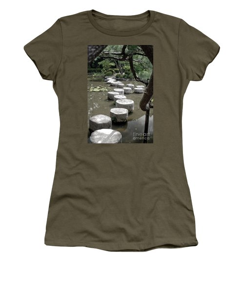 Stepping Stone Kyoto Japan Women's T-Shirt