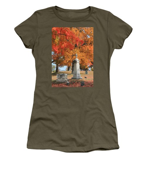 Sterling Ma Burial Ground Women's T-Shirt (Athletic Fit)