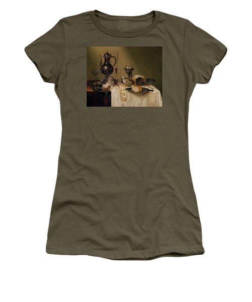 Still Life, 1642 Oil On Canvas Women's T-Shirt