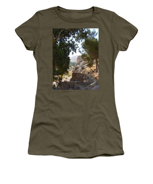 Stony Paths Women's T-Shirt (Athletic Fit)