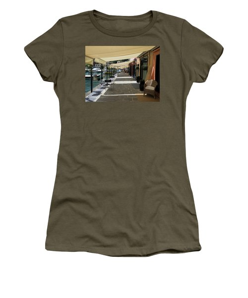 Stores With Awnings, Portofino Women's T-Shirt