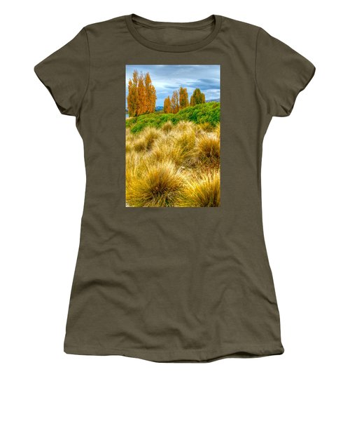 Storm Approaches Women's T-Shirt (Athletic Fit)