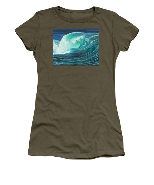 Stormy Wave Women's T-Shirt