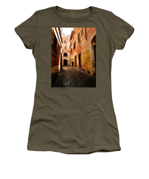 Strade Di Ciottoli Women's T-Shirt (Athletic Fit)