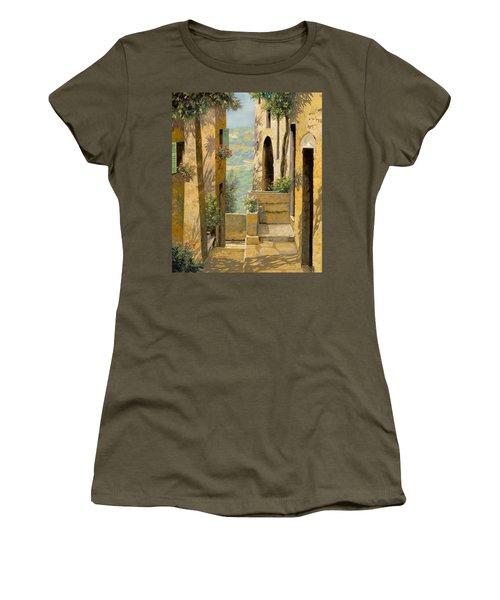 stradina a St Paul de Vence Women's T-Shirt