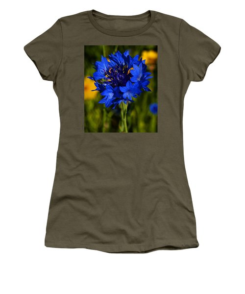 Straw Flower Women's T-Shirt (Athletic Fit)