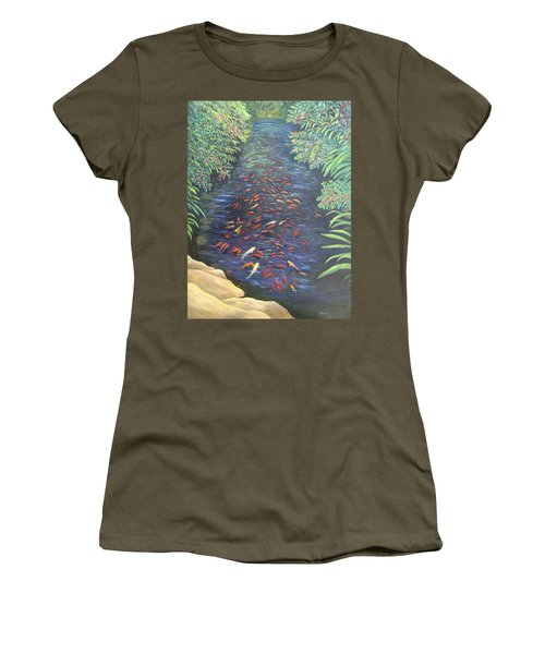 Stream Of Koi Women's T-Shirt