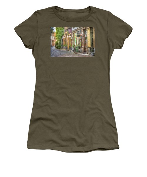 Street In Ghent Women's T-Shirt