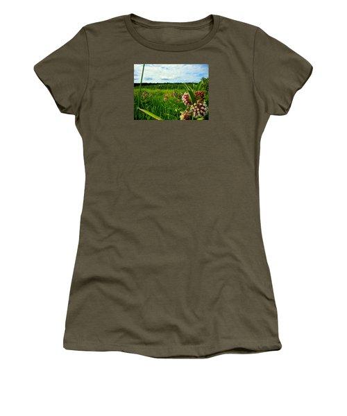 Summer Breeze Women's T-Shirt (Junior Cut) by Zafer Gurel